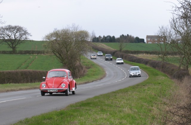 A606 Melton to Oakham road