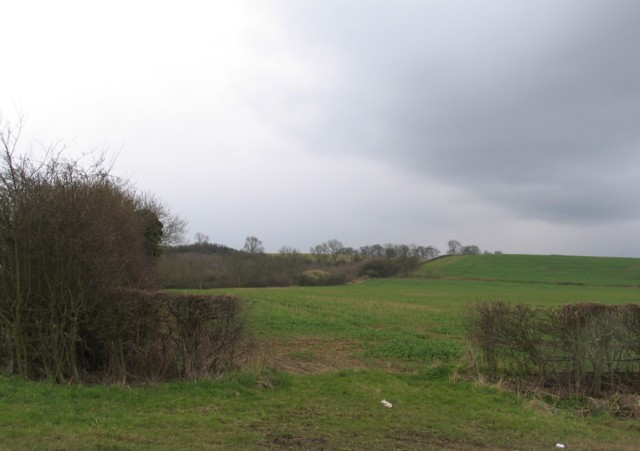 Towards Ranksborough Hill from A606