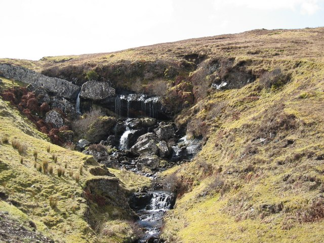 Waterfall on Allt Buaile Shuaine