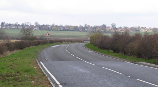 A606 towards Melton