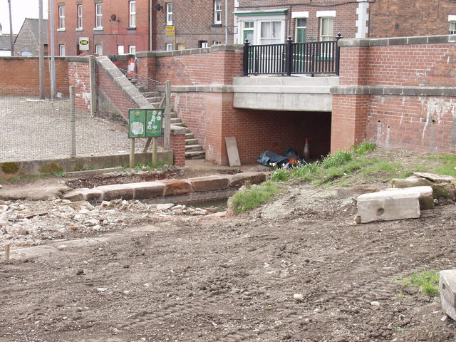 New Bridge installed