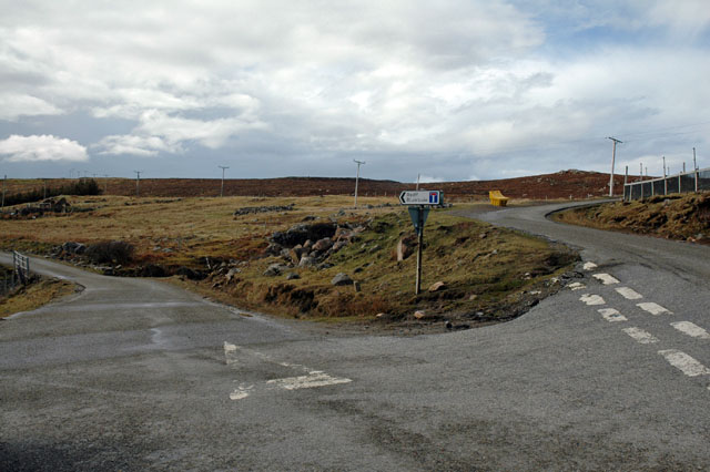 Road Junction to Reiff and Blairbuie