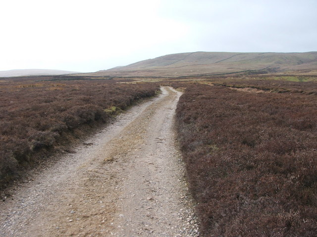 Shooters road on Melmerby Moor.