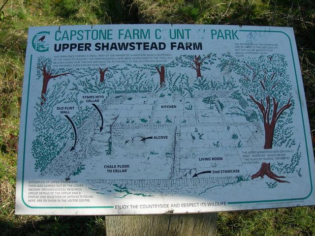 Upper Shawstead Farm Sign