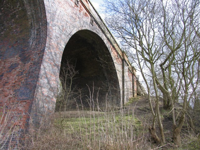 Viaduct south abutment