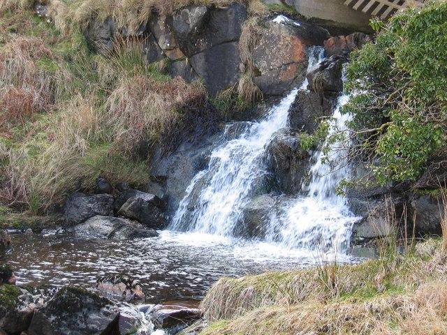 Waterfall on the Allt Leacach