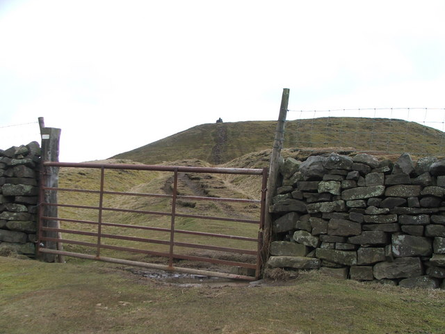 Eastern end of Penhill.