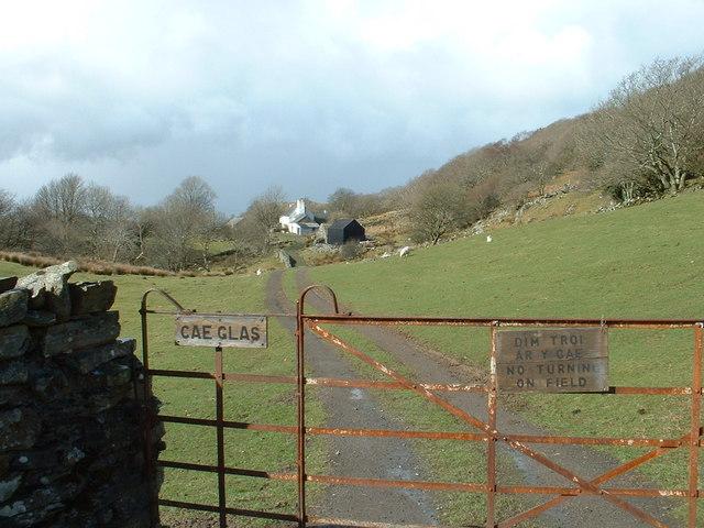 Cae Glas Farm, near Croesor