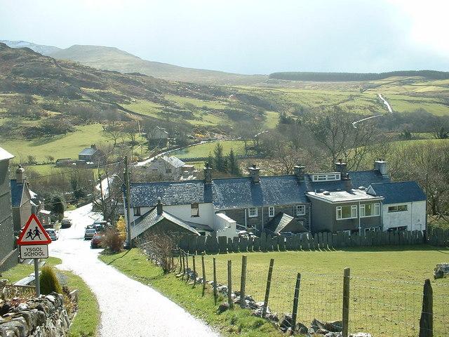 Croesor Village