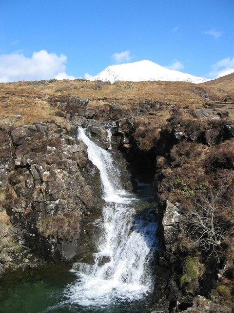 Glen Brittle Waterfall