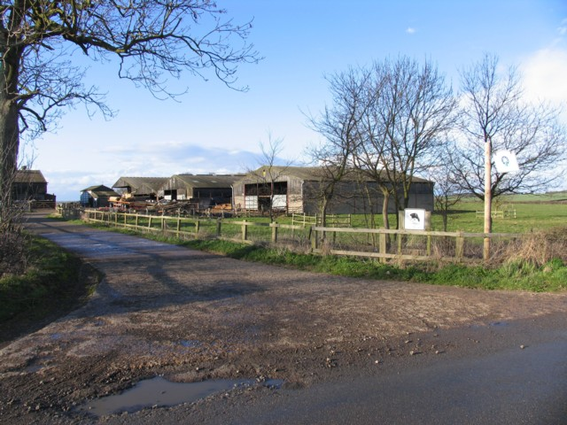 Wilds Lodge farm buildings