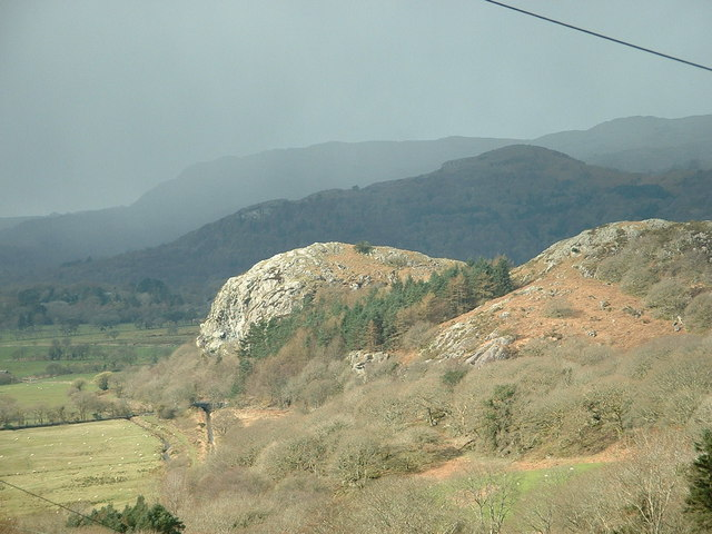 View of Carreg Hylldrem