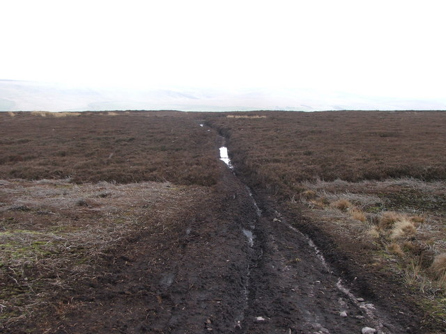 Footpath over Melmerby Moor.