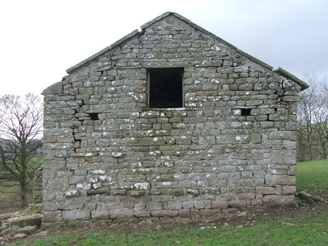 Barn end in Coverdale.