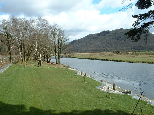 Slate Quay on the Afon Dwyryd