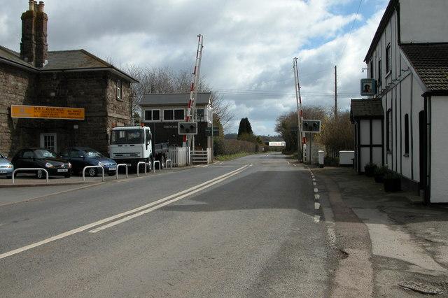 Level Crossing by the Tram Inn