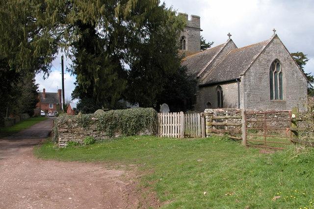 Thruxton Church and Thruxton Court