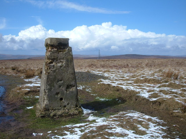 White Hill, Pennine Way
