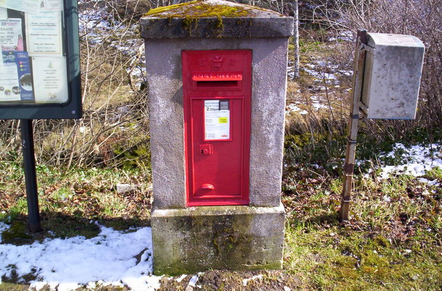 Post Box at Easter Balmoral