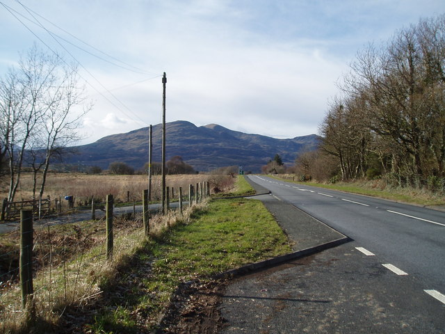 The A 470 approx 4km north of Trawsfynydd