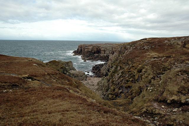 Coastline Rubha Mor