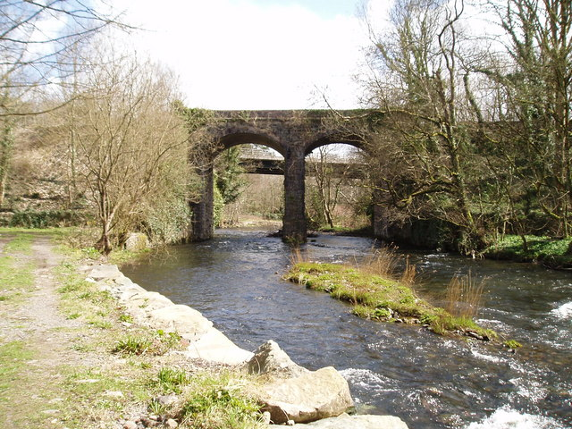 Welsh Highland Railway Viaduct over Afon Seiont