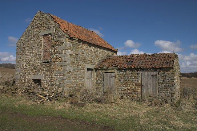 Semi-ruined barn