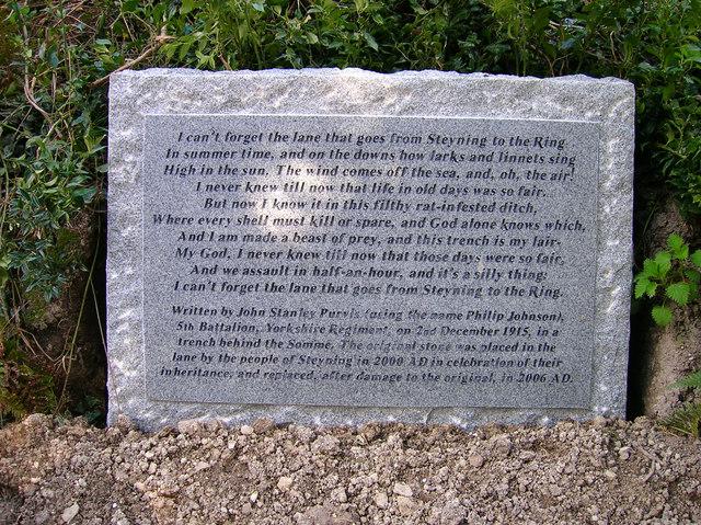 First World War memorial, Mouse Lane