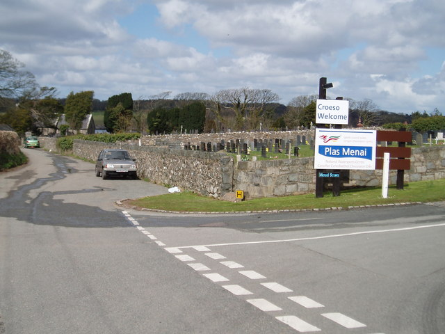 Entrance to Plas Menai