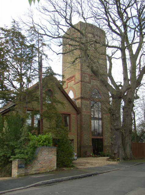 Converted Water Tower, Frith Hill, Godalming
