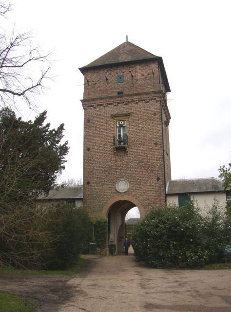 The water tower, Polesden Lacey, Great Bookham