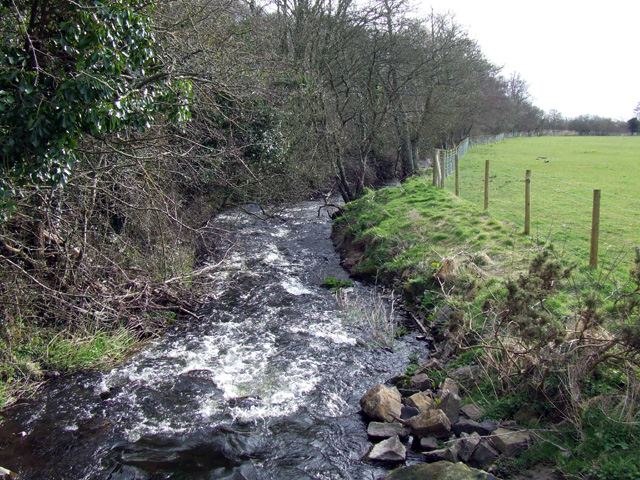 Stream at Pont Dic near to Brynsiencyn