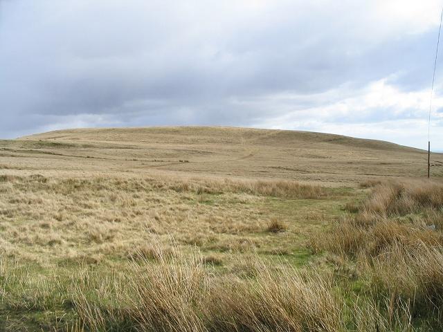 North side of Mynydd Carnllechart
