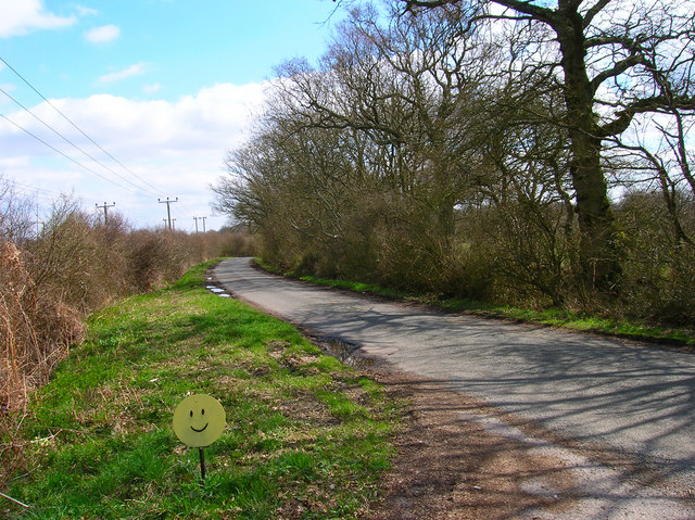 Smiley Face, Honeybridge Lane