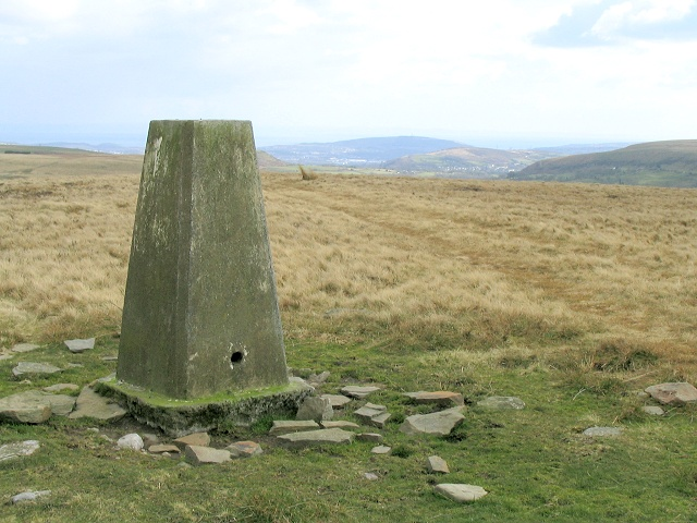 Trig pillar on Bryn Mawr