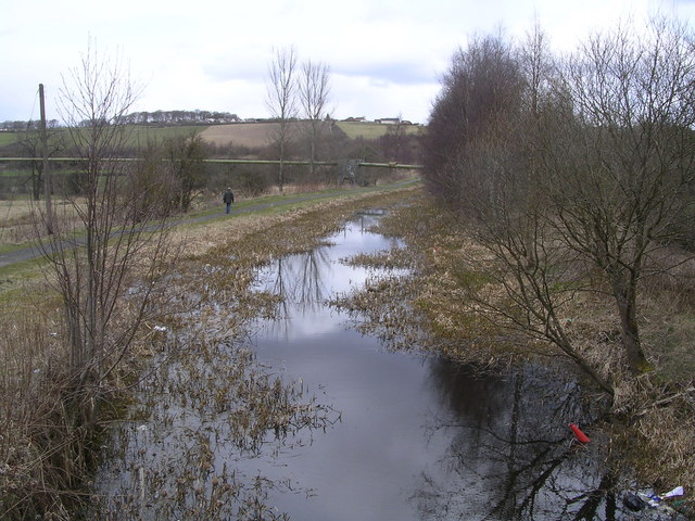 Monkland Canal, near Calderbank