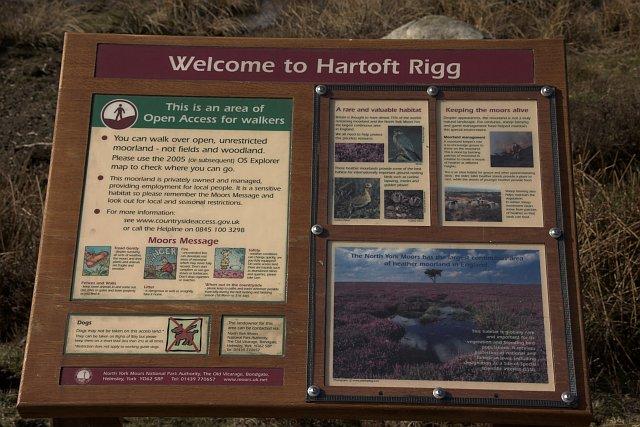 National Park information board