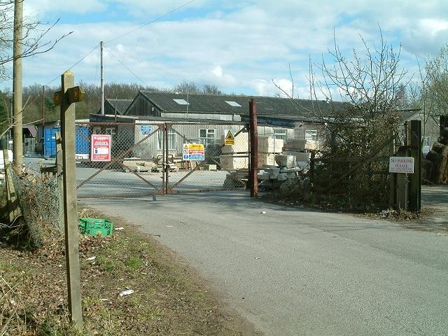 Stone Mason's Yard at Lower Vert Wood