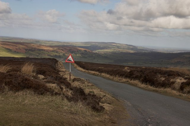 Caper Hill - road to Glaisdale