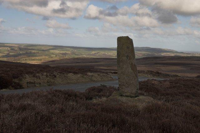 Cross remains at Black Hill