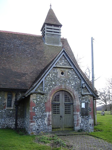 St Margaret's church porch, Hucking