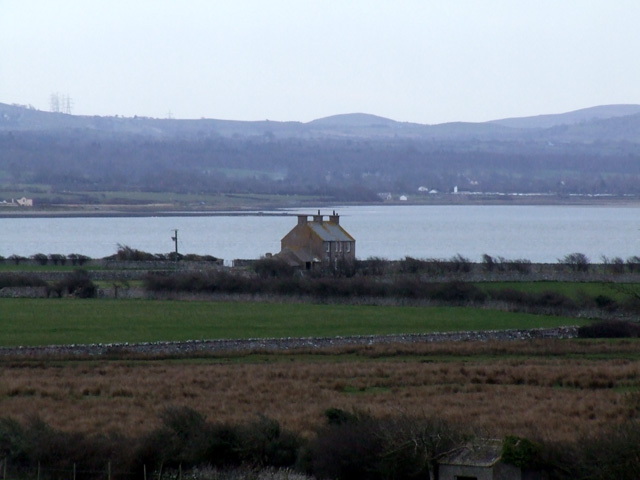 Penrhyn Bach on the Menai Straits shore
