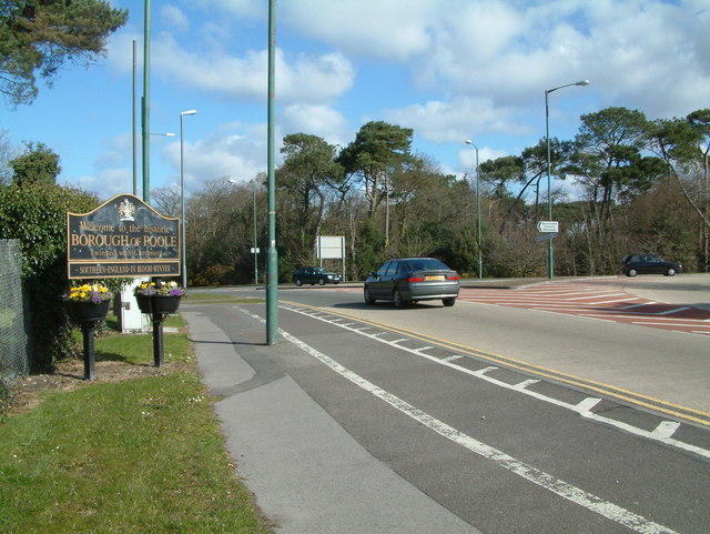 Entering Poole