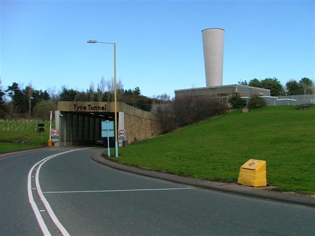 Tyne Tunnel North Entrance