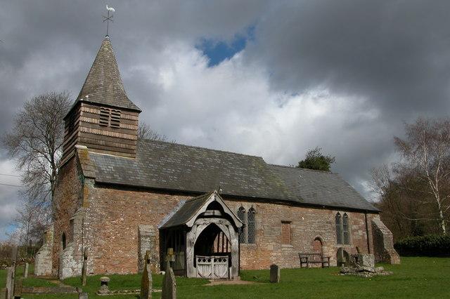 St Michael's Church, Dewsall