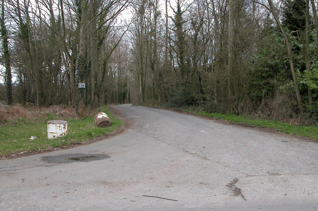 Driveway into Haywood Forest near Callow