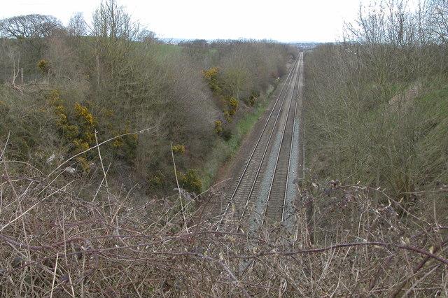 Hereford to Abergavenny railway
