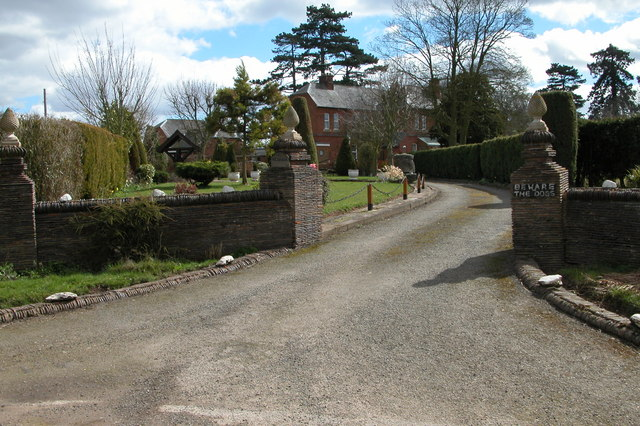 Entrance to the Vicarage, Allensmore