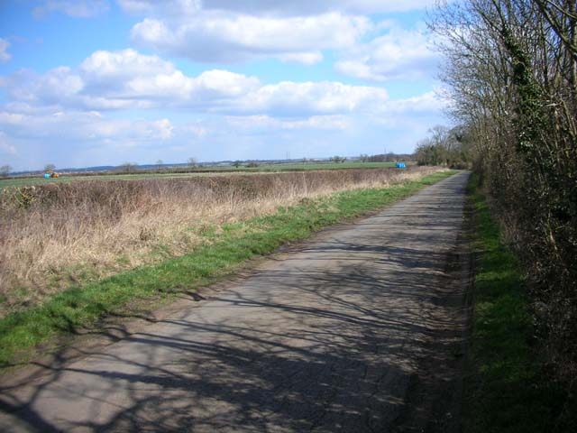 Country Road from the A43 to Hardwick