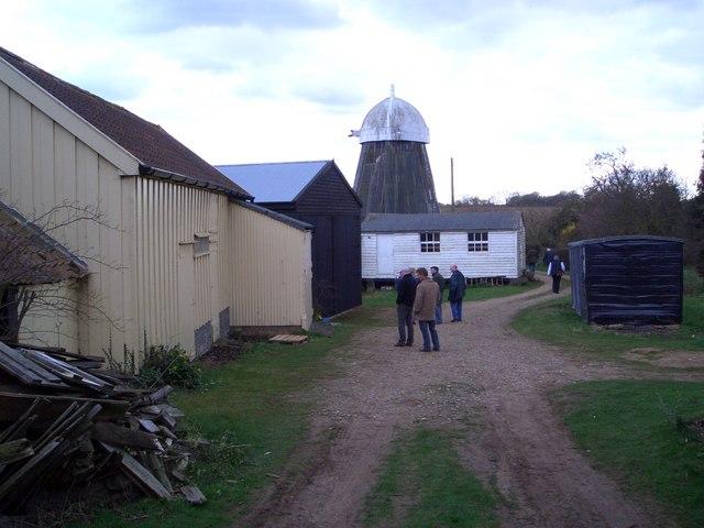 Drinkstone Mills - the smock mill
